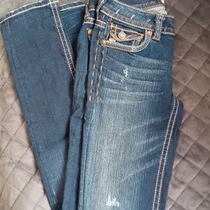 MEL DNM size 26. New York cigarette jeans